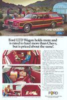 Ford LTD Wagon 1977 Ad Picture