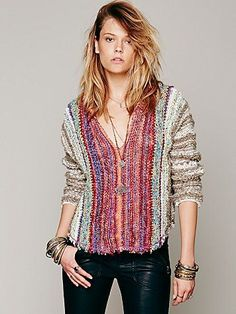 Free People Make My Day Poncho