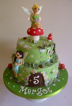 Tinkerbell fairy cake by #CakeyCake