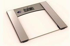 Sleek and Modern Digital Bathroom Scale with Body Fat and Hydration Monitor!!  #bathroom #homedecorating