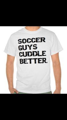 Soccer guys  cuddle better
