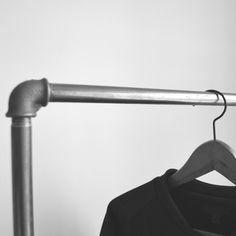 Kleiderstange Wand Befestigen kleiderstange clothes rail various steel pipe design