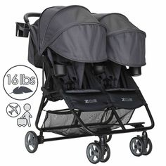 inc Mclaren Pushchair /& Pram Travel Bag One Size Fits Most Lightweight Umbrella Buggies Single Buggy Gate Check PRO