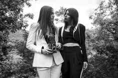 Beacon's Closet, September 2013 - Bannerman Island, photographed by Carly Rabalais, styled by Bunny Lampert, modeled by Bunny Lampert & Sandra Ciriello.