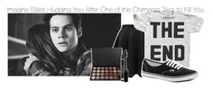 """""""Imagine Stiles Hugging You After One of the Chimeras Tries to Kill You"""" by xdr-bieberx ❤ liked on Polyvore"""
