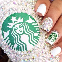 Starbucks nails