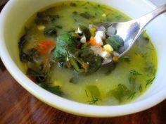 Healthy and nutritious! Green Borscht (Ukrainian Sorrel or Spinach Soup)