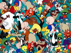 The other two Looney Tunes who in the live action/2d animated movie & the new TV show are Daffy Duck & Porky Pig.