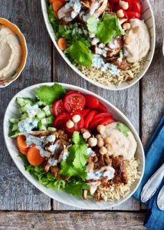 These Caprese Chicken Meal Prep Bowls are the perfect way to stick to your goals this summer by having 4 lunches meal prepped in 30 minutes! Cookbook Recipes, Lunch Recipes, Vegetarian Recipes, Dinner Recipes, Cooking Recipes, Healthy Recipes, Whole30 Recipes, Healthy Meals, Healthy Life