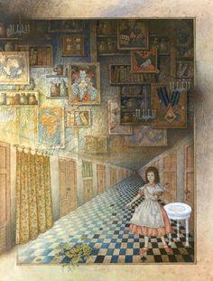 "windypoplarsroom: "" Евгений Антоненков "" Alice's Adventures in Wonderland by © Evgeny Antonenkov - via"