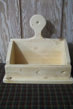 DIY Build a really cute primitive shelf or countertop box
