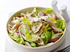 Spring Chicken Salad  http://www.foodnetwork.com/recipes/food-network-kitchens/spring-chicken-salad-recipe.html