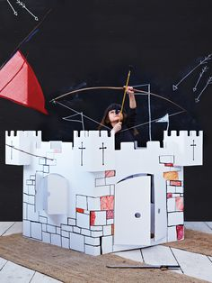 Make Your Own Cardboard Castle NEW
