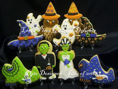 Halloween Cookie MIX  10 Cookies by lorisplace on Etsy, $35.00