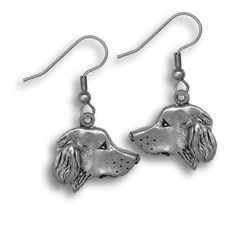 Pewter Golden Retriever Earrings by The Magic Zoo >>> Click image to review more details. (This is an affiliate link) #Earrings
