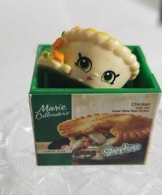 SHOPKINS real Littles Pot pie like NEW | Mercari Shopkins Figures, Barbie Doll Set, Mini Foods, All Things Cute, Pot Pie, Characters, Dinner, Random, Toys