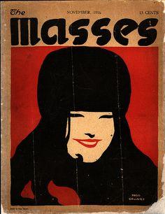 The Masses magazine 1916