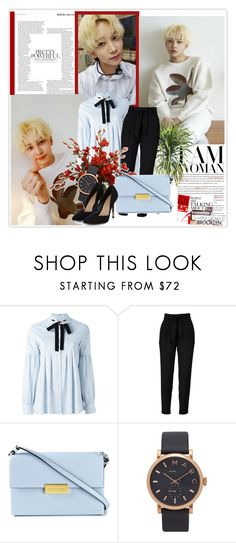 """299. Jeonghan"" by staycloudyornah ❤ liked on Polyvore featuring VIVETTA, STELLA McCARTNEY, Marc Jacobs and PLANT"