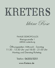 Home - www.kreters.de Tel.06203-3251