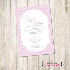 Sugar and Spice Baby Shower Invite Sugar & by designsbyVancette
