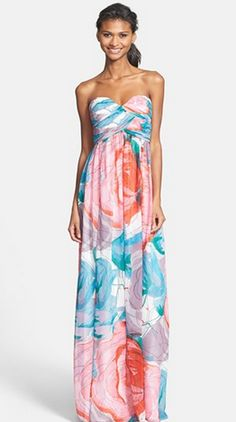 Gorgeous dress by @Donna Morgan