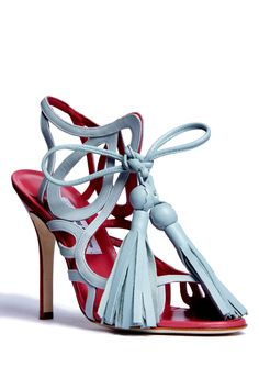 Manolo Blahnik for Mimi Plange Sandals S/S11