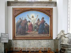 Fil:Trinitatis Kirke Copenhagen painting1.jpg