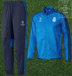 57e6f68e950af Real Madrid Presentation Suit - Official adidas Football Tracksuit - Boys  Sizes
