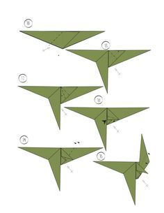 wikiHow, Rawr - Origami Dinosaur! And 2 More Ways to Make...