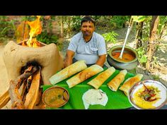 Dosa Recipe, Indian Food Recipes, Ethnic Recipes, South Indian Food, Fresh Rolls, Broccoli, Carrots, Vegetables, Cooking