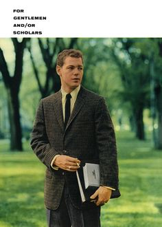 Esquire September 1958 Preppy Boys, Preppy Style, 1960s Fashion Mens, Barefoot In The Park, American Casual, Ivy League Style, Ivy Style, Stylish Men, Fashion History