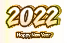 Free 2022 Happy New Year Clipart