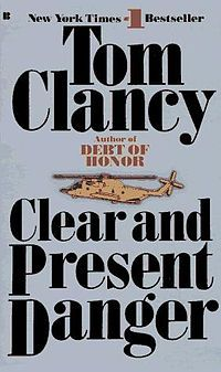 This was a neat twist for Tom Clancy books, from my perspective, because it took the military force normally reserved for the cold war and switched to the war on drugs. Cool book.