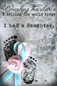 Remembering my stillborn baby.