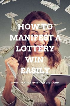 Are you one of many who are longing for that jackpot week after week? In this post, I will cover all you need to know on how to manifest a lottery win. Manifestation Journal, Manifestation Law Of Attraction, Law Of Attraction Affirmations, Lotto Lottery, Lottery Strategy, How To Win Lottery, Secret Law Of Attraction, Law Of Attraction Quotes, Spiritual Awakening