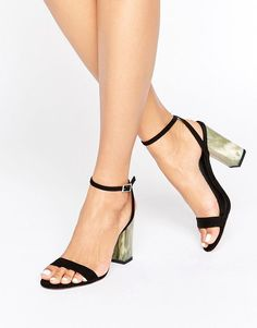 Get this Asos's heeled sandals now! Click for more details. Worldwide shipping. ASOS HUE Heeled Sandals - Black: Heels by ASOS Collection, Faux suede upper, Ankle-strap fastening, Sigle strap design, Block high heel in contrast design, Wipe with a damp cloth, 100% Textile Upper, Heel height: 9.5cm/4. Score a wardrobe win no matter the dress code with our ASOS Collection own-label collection. From polished prom to the after party, our London-based design team scour the globe to nail your…