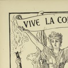 Political Posters, Labadie Collection, University of Michigan: Vive la Commune! An English tribute to the French commune dedicated to the workers of both countries