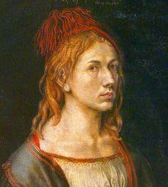 Albrecht Dürer, Self-portrait with thistle (1493)