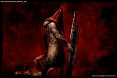 Pyramid Head 2012 by Masahiro Ito (Silent Hill art director)