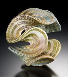 Elise Winters - Contemporary Art Jewelry and Sculpture in Polymer Clay Polymer Clay Art, Polymer Clay Jewelry, Art Of Glass, Shattered Glass, Fused Glass, Stained Glass, Oeuvre D'art, Art Forms, Ceramic Art