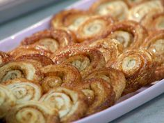 Palmiers recipe from Anne Burrell via Food Network
