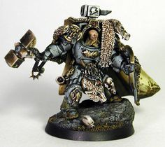 Space Wolves Arjac Rockfist Terminator Wolf Guard