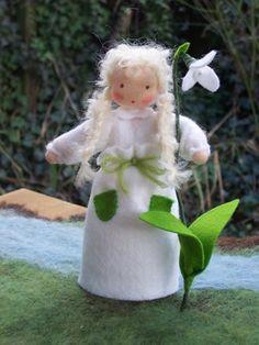 Schneeglöckchen Blumenkind Sina