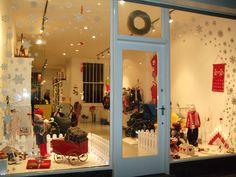 christmas window displays | Kidsen Christmas window display « EMILY WHEELER