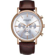 Pierre Cardin PC902371F04 Pierre Cardin, Watches, Stylish, Brown, Leather, Accessories, Jewelry, Jewlery, Wristwatches