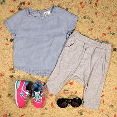 mini outfits: h&m + new balance #minilicious
