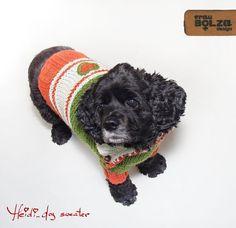 XL XXL HEIDI Hundepulli für grosse Hunde aus von fraubOLZadesign, $135.00