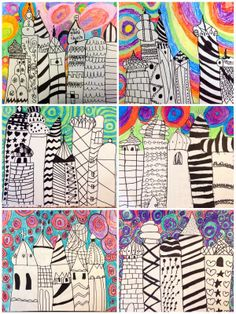 2nd Grade Russian Architecture Exploring Art: Elementary Art