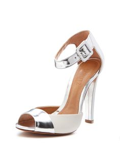 Shauna Metallic Leather Sandal from Summer Sandals on Gilt