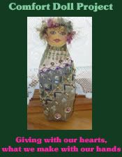 """Linda Walsh Originals Dolls and Crafts Blog: Pat Winter's """"The Comfort Doll Project"""""""
